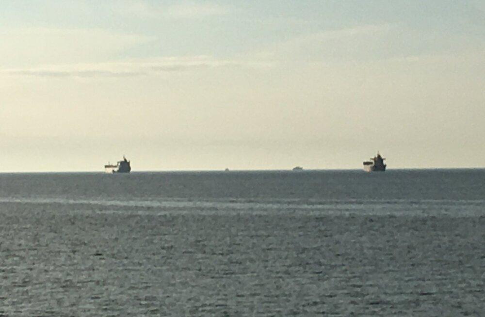 Laevad Tallinna lahes