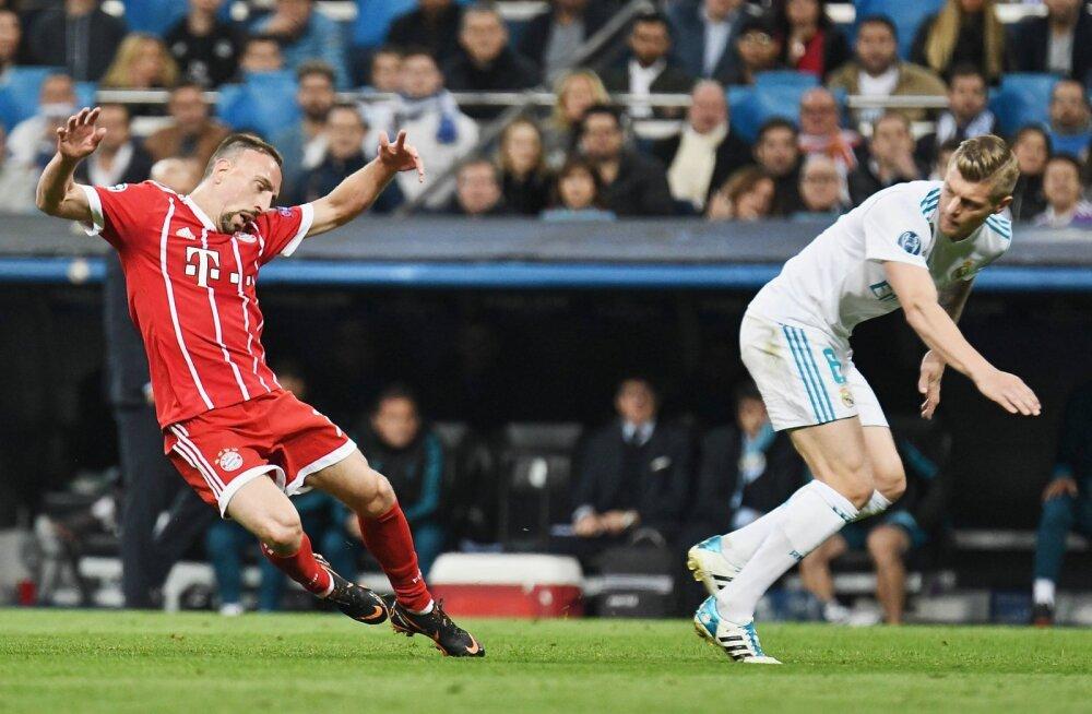 Franck Ribery ja Toni Kroos