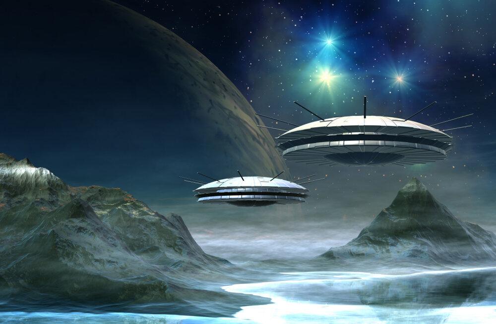 Salapärased signaalid kosmosest - mis või kes neid tekitab?