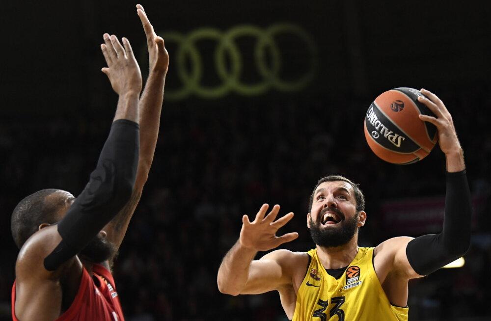 NBA-st Euroopasse naasnud Barcelona staar valiti Euroliiga kuu kõige väärtuslikumaks mängijaks