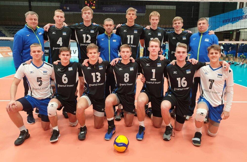 Eesti U20 võrkpallimeeskond