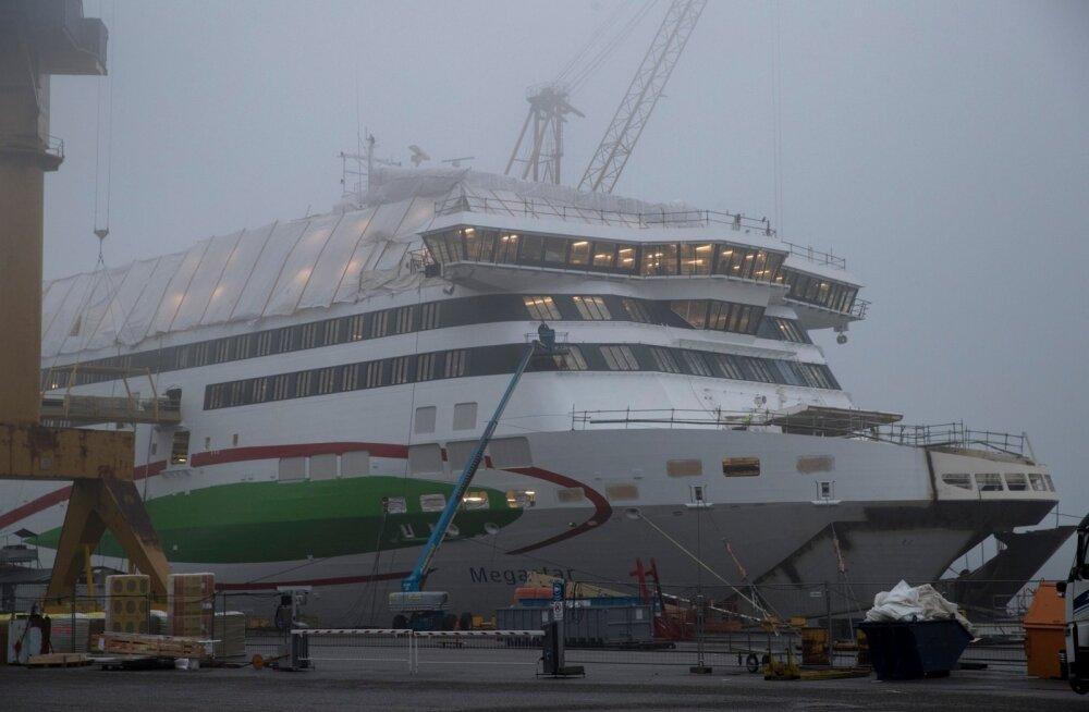 Megastari ehitus Turu laevatehases