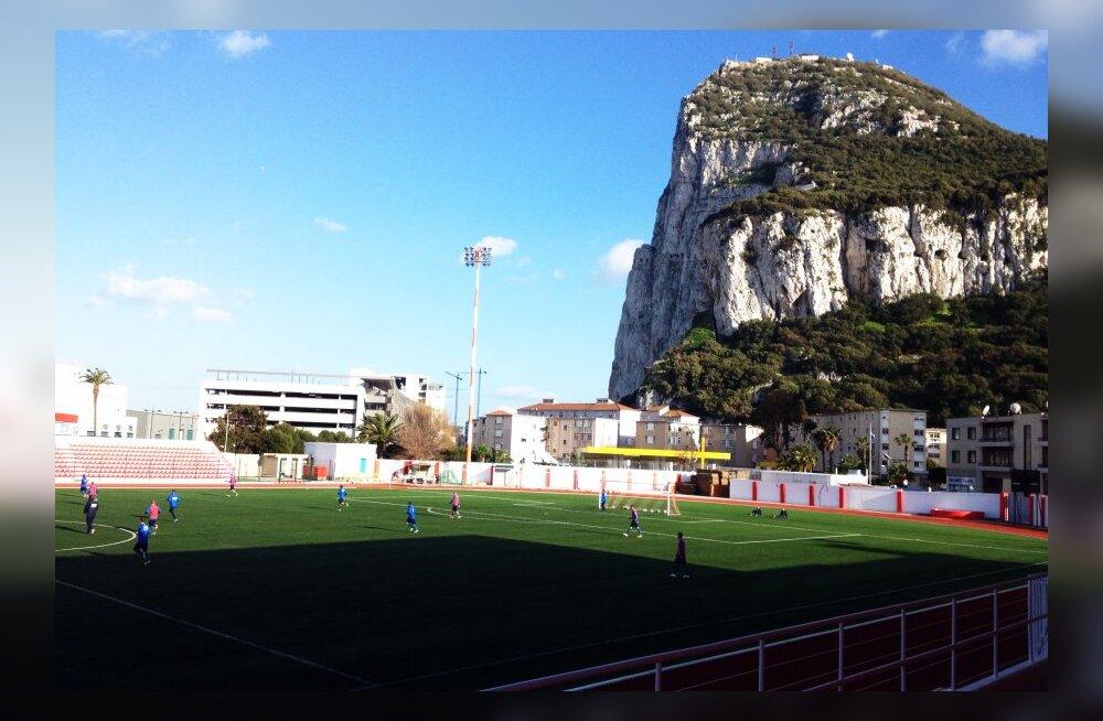 DELFI GIBRALTARIS: Vutikoondis jõudis viperuste tõttu Gibraltarile päevase hilinemisega