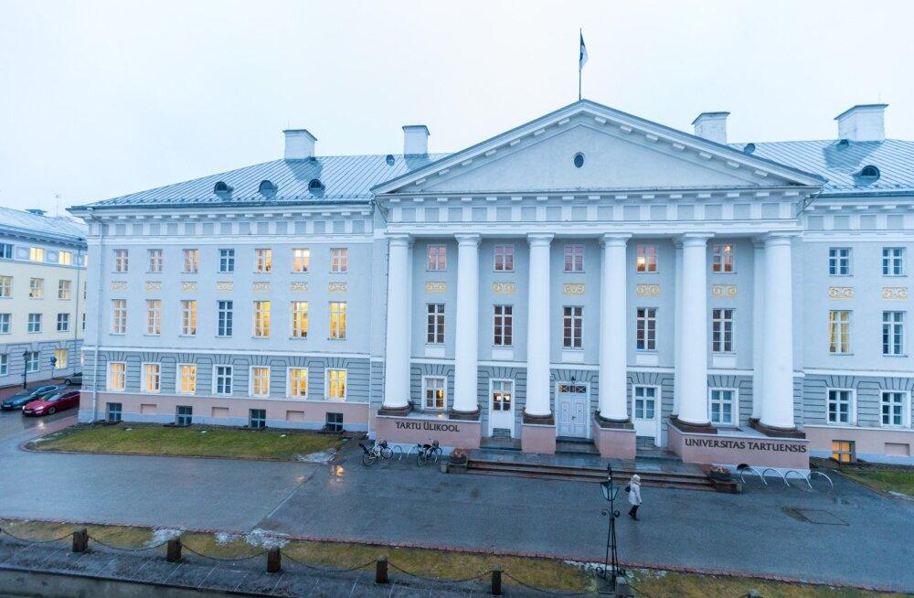 Tartu Ülikooli peahoone.