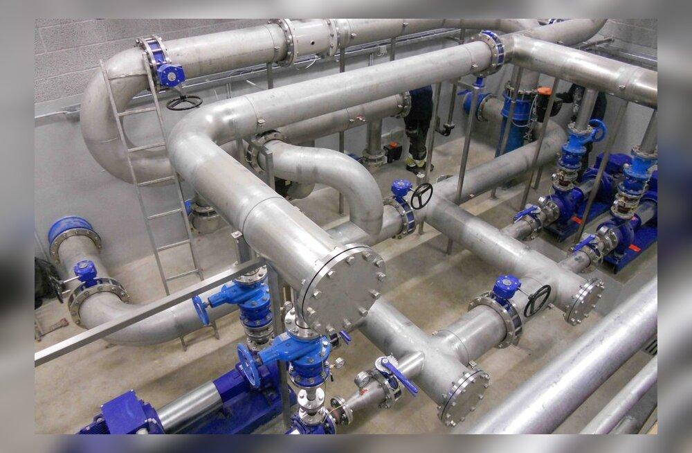 Ahtme veepuhastusjaam alustas tööd