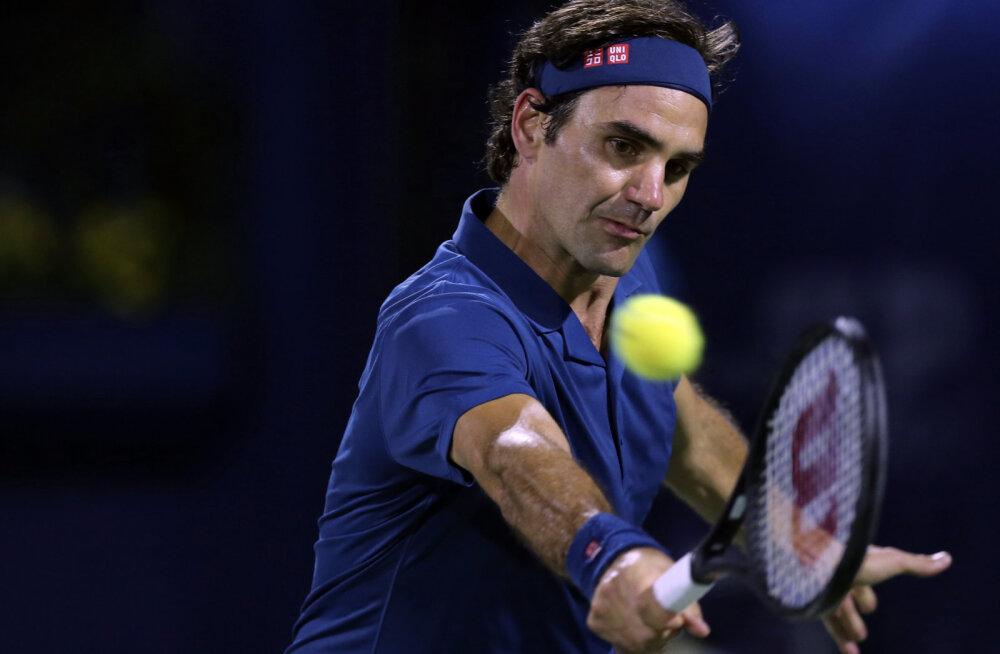 Roger Federer on ühe võidu kaugusel võimsast saavutusest