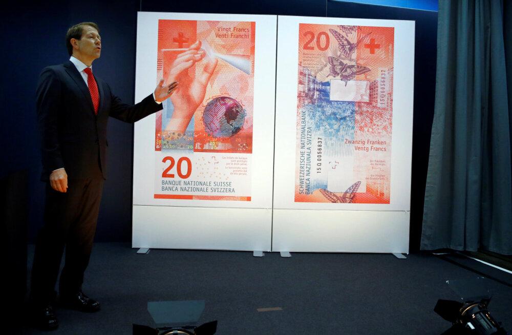 Šveits sai uue rahatähe