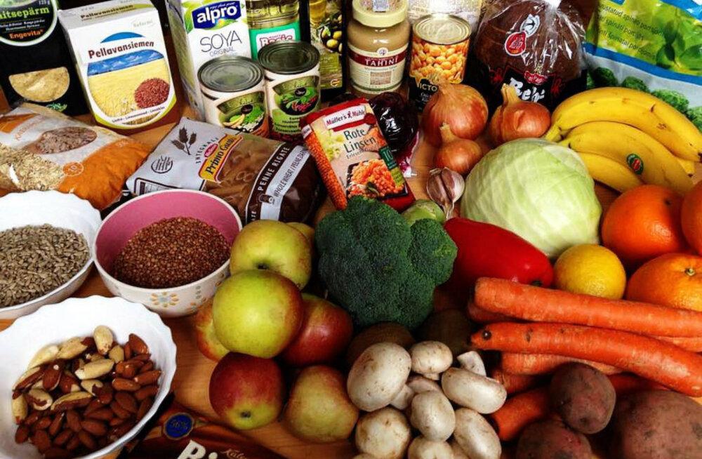 Kuidas saada veganina söönuks 3 euro eest päevas?