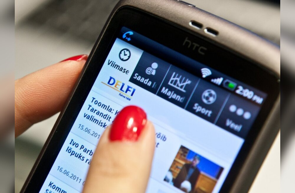 Delfi Androidi rakendus