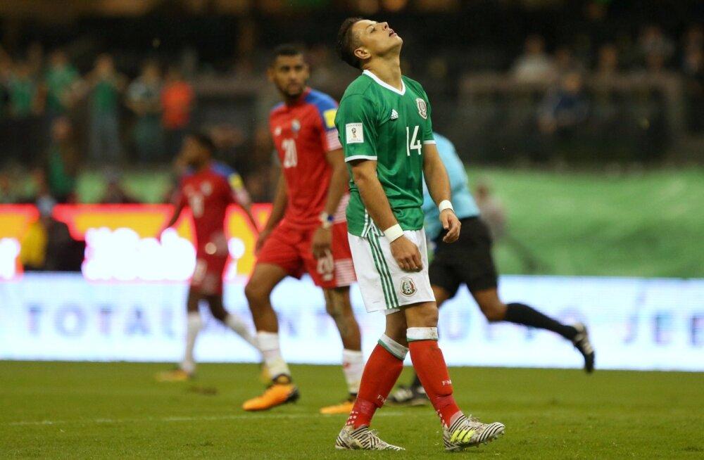 Mehhiko suurim täht Javier Hernandez.