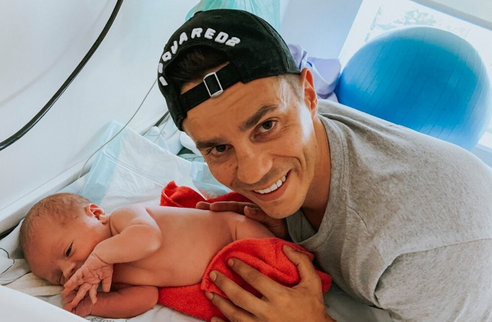 FOTOD | Palju õnne! Joel Juht ja moeblogija Kätriin Kübar tervitasid maailma oma esimest last