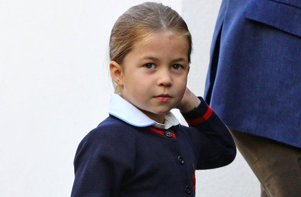 Tulise iseloomuga väike printsess Charlotte teenis endale lasteaias muljetavaldava hüüdnime