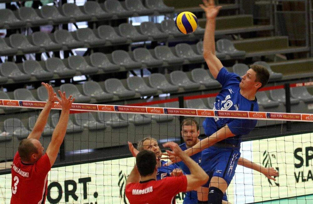 FOTOD: MM-piletit nooliv Eesti sai Valgevene üle raske võidu. Kas kiirustasime vahetustega?