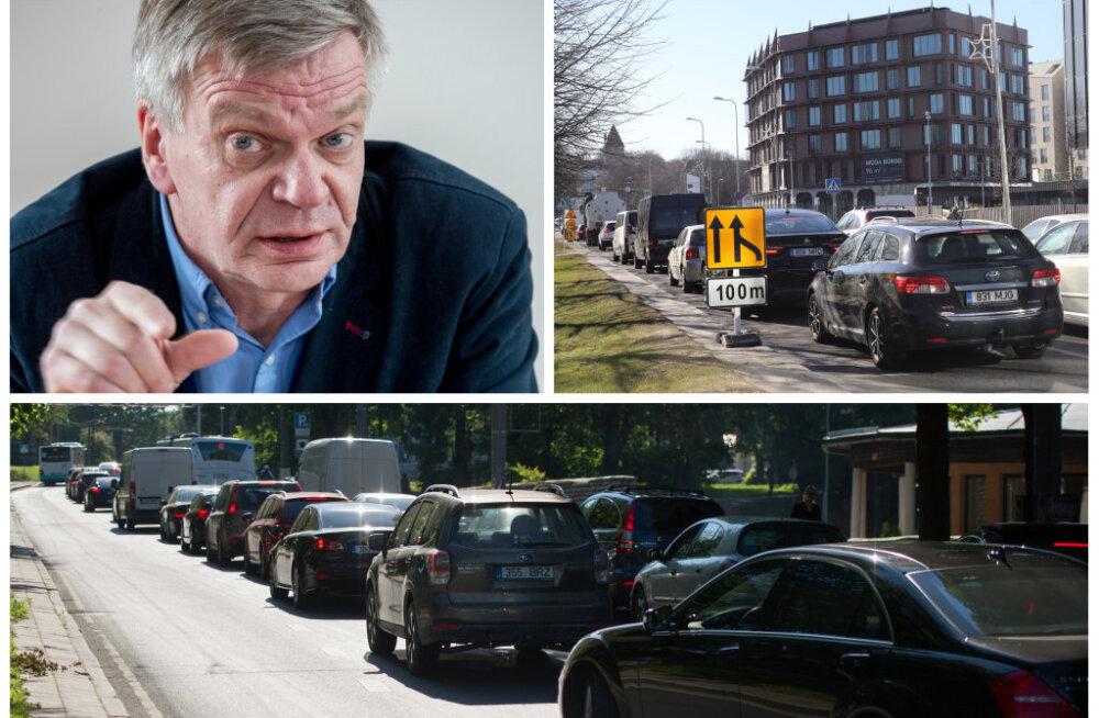 Liiklusohutuse ekspert: Tallinnas on ummikud paratamatus! Laiemad tänavad oleks ebaratsionaalne lahendus ning Reidi tee mõju on väga väike