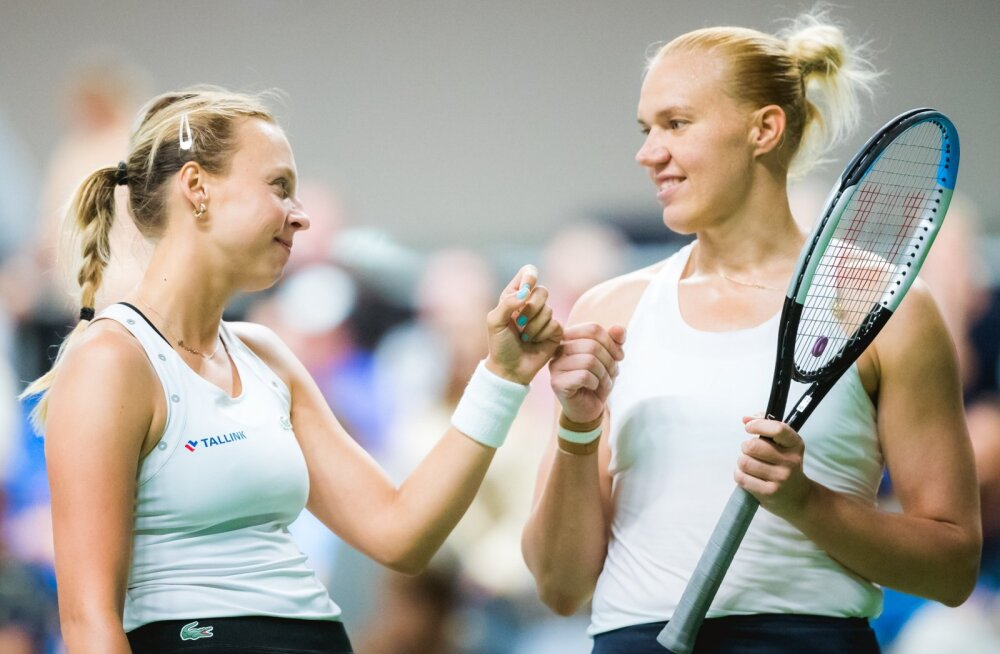 Kanepi & Kontaveit vs Sevastova & Ostapenko