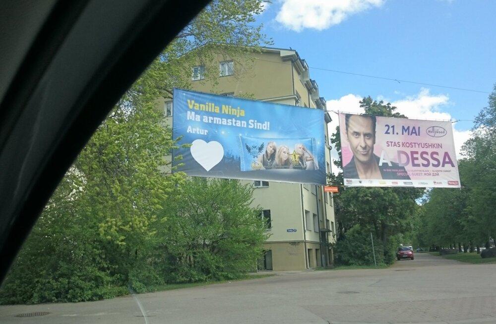 LUGEJA KÜSIB: Kas tegu on Balbiino reklaamkampaaniaga või fännab tõesti keegi Artur tulihingeliselt siiani Vanilla Ninjat?