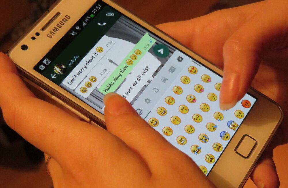 Miljard kasutajat iga päev: WhatsApp on ülipopulaarne nii suhtluse kui ka uudiste vahendamisel