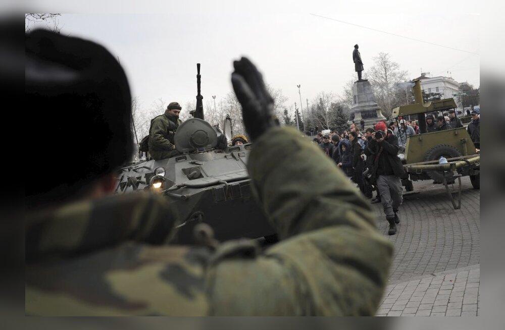 Krimm - Venemaa relvastatud sillapea Ukraina kõhu all, tatarlastest hoolimata