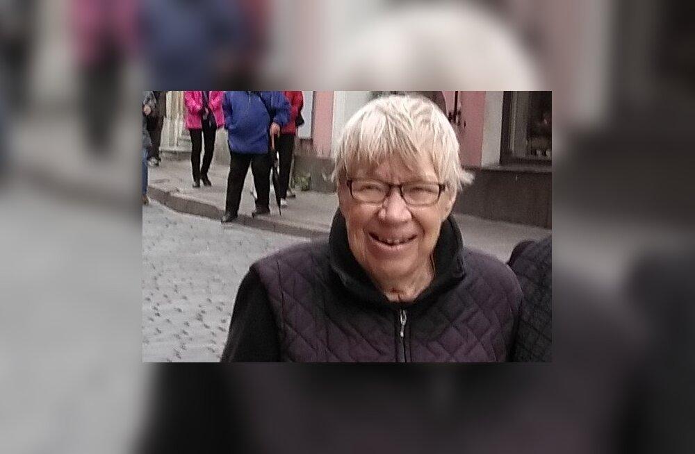 В Старом городе Таллинна пропала 73-летняя женщина