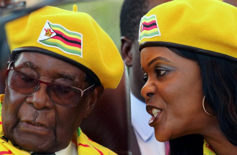 Kas oma poliitikaga Zimbabwe vaesusesse lükanud Robert Mugabe oli ka ise vaene?