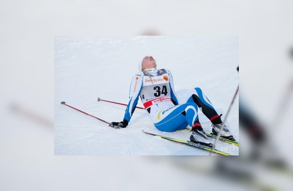 Naiste 10km finiš, Otepää MK