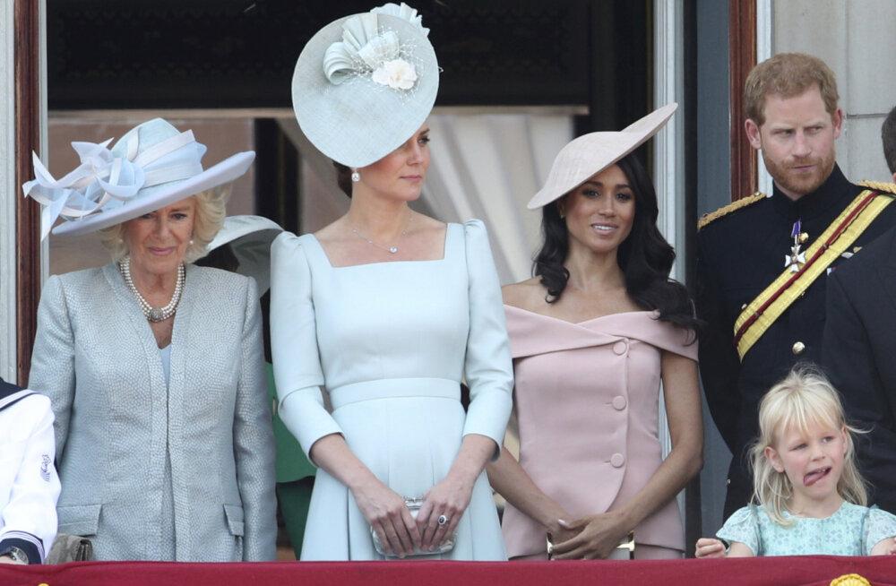 PÄEVA KLÕPS | Kaunis debüüt! Hertsoginna Meghan säras kuninganna Elizabethi sünnipäevaparaadil kui värske roosinupuke