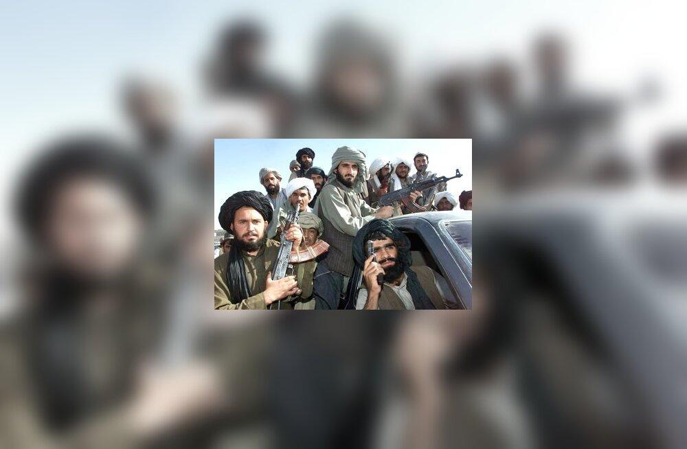 Talibani võitlejad Afganistanis