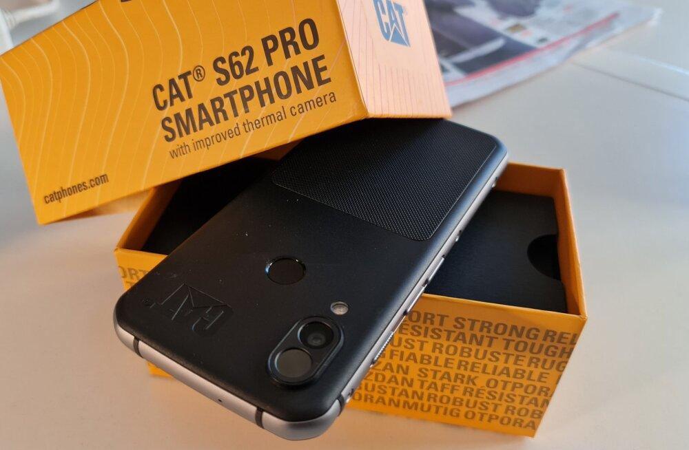 Karbist välja: veel parema termokaameraga mobiil CAT S62 Pro