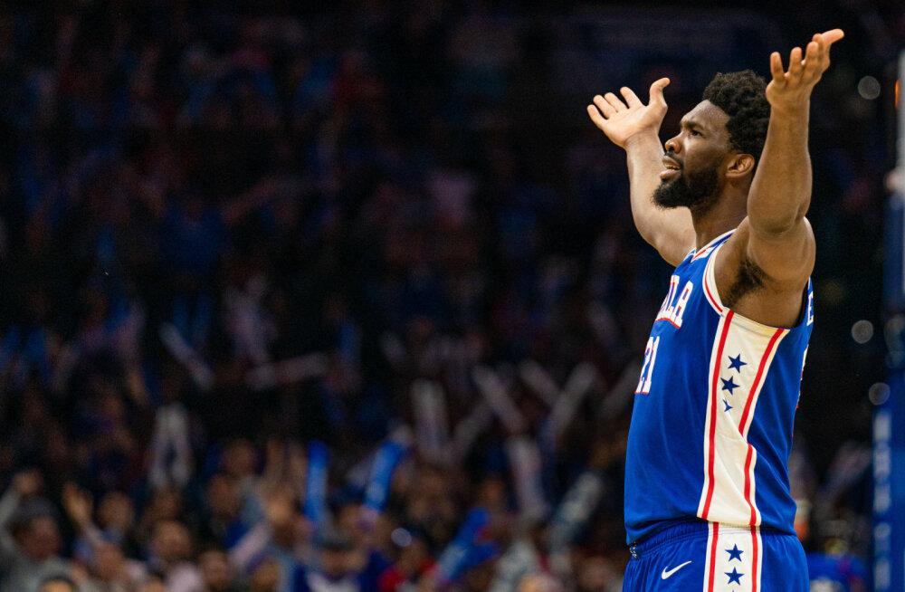 VIDEO   New York Knicksi nukker seeria sai jätku, Philadelphia jätkab kodus võitmatuna