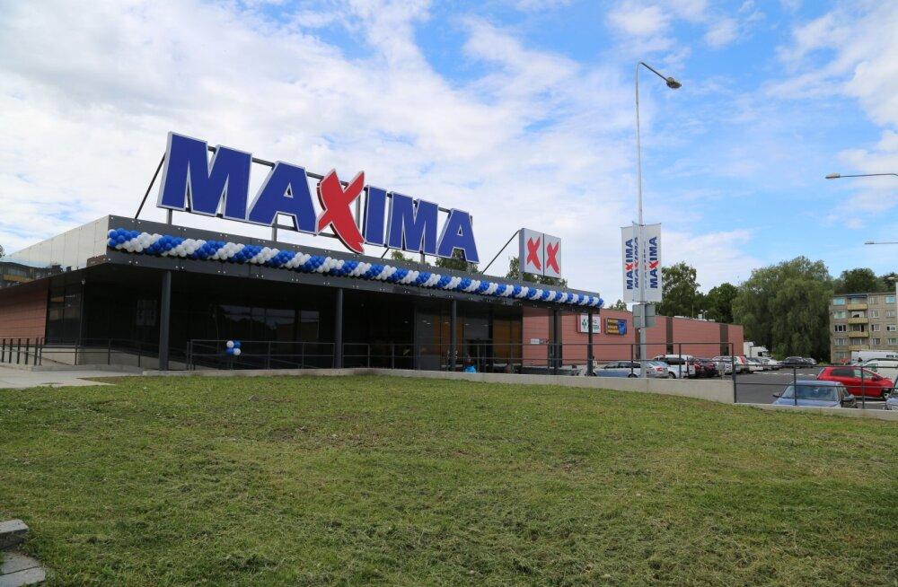 Во вторник в Мустамяэ открылся новый супермаркет Maxima XX