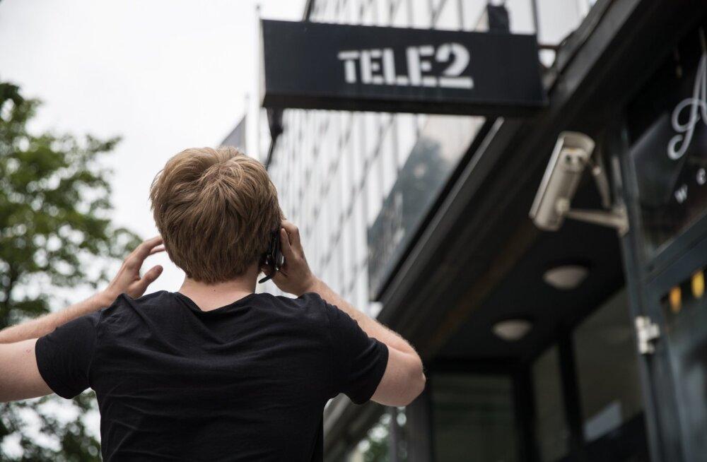 Pettunud Tele2 klient