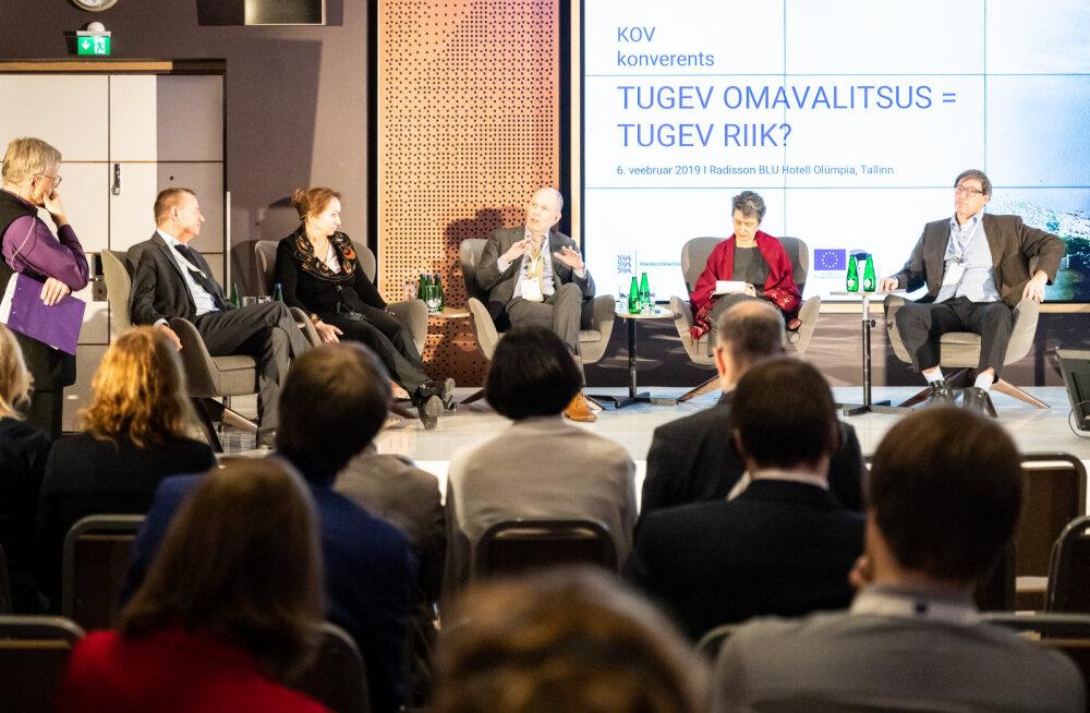 Иностранные эксперты на конференции в Таллинне: местным самоуправлениям следует больше доверять