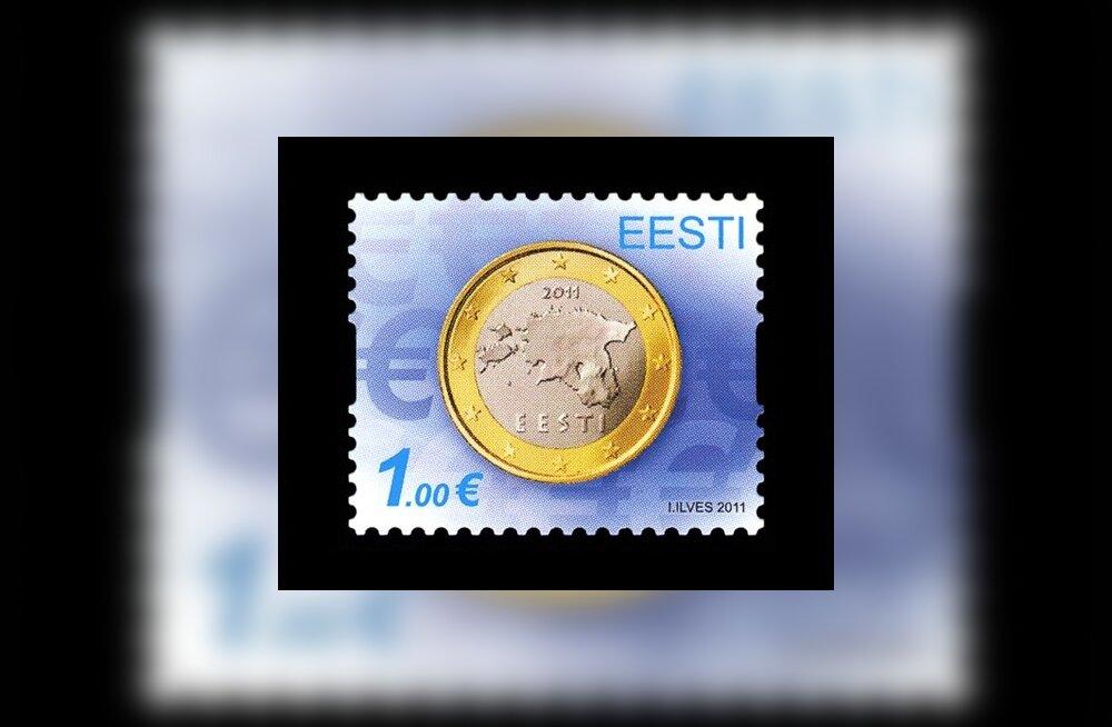 1d963e5ca99 Eesti Post annab euro tuleku auks välja postmargi - ärileht.ee