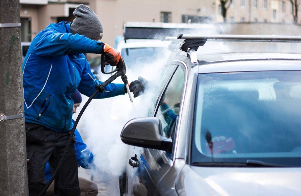UpSteam: Auto puhtaks pesulasse viimata