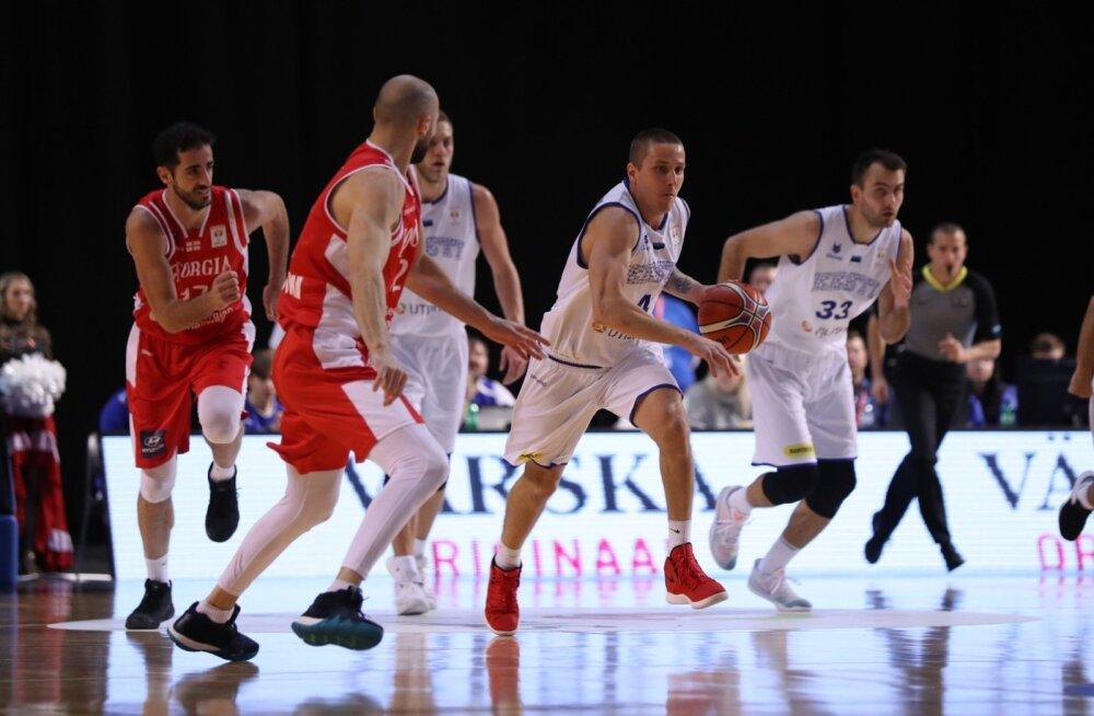 Eesti - Gruusia korvpall