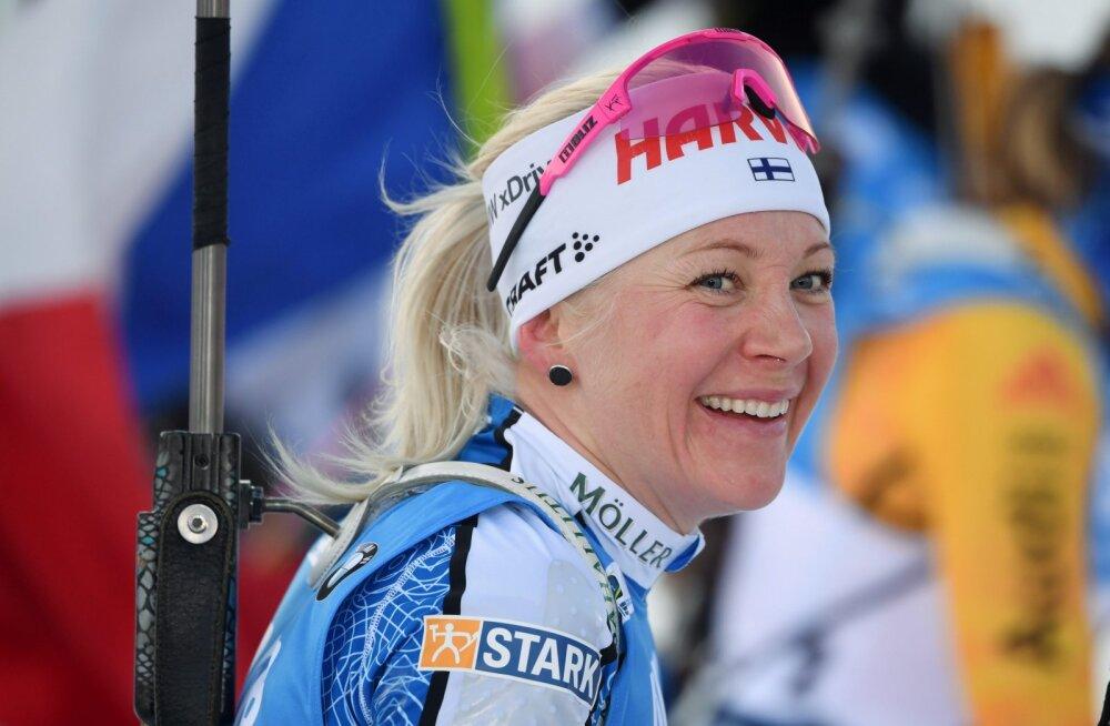 Konkurendid karjääri lõpetanud Kaisa Mäkäräinenist: ta oleks pidanud jätkama