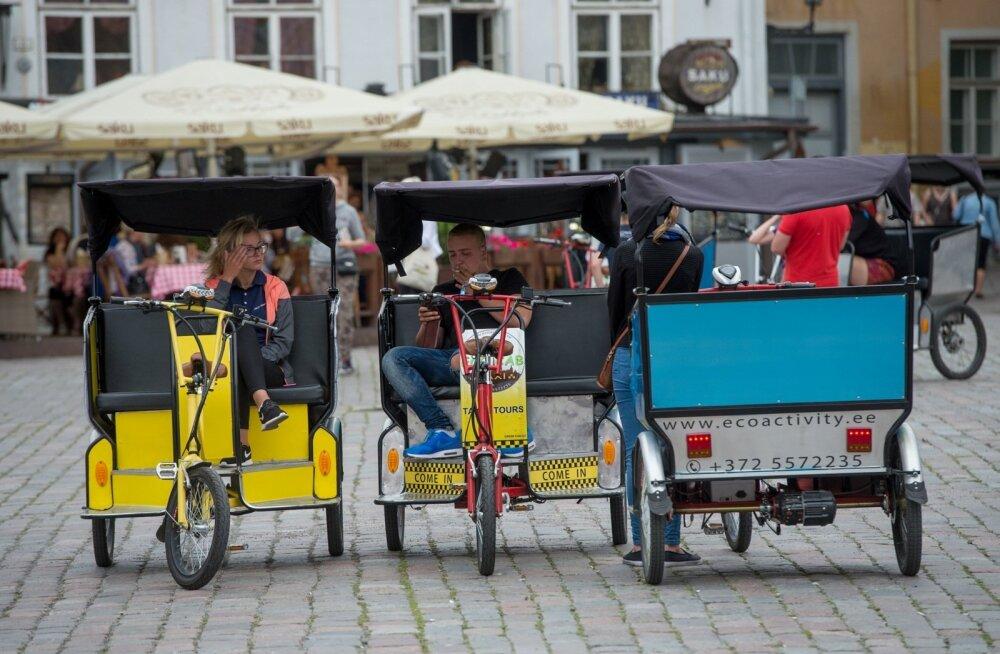 Velotaksod Tallinna vanalinnas