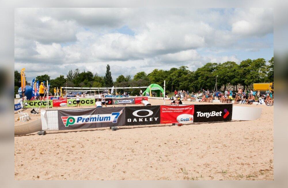 Premium 7 Grand Prix rannavõrkpallisarja kolmas etapp Silveston Cup Kuressaare