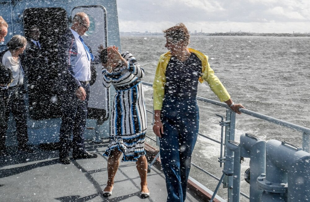 Rootsi kroonprintsess ja Eesti president saavad läbimärjaks