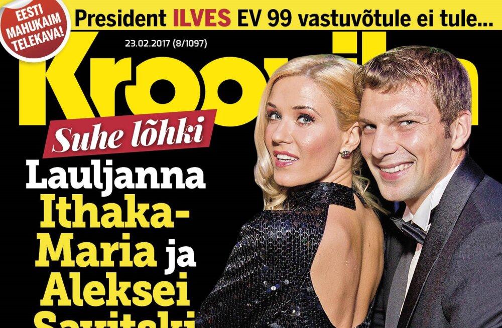 SUHE LÕHKI: Lauljanna Ithaka-Maria ja Aleksei Savitski kolisid lahku