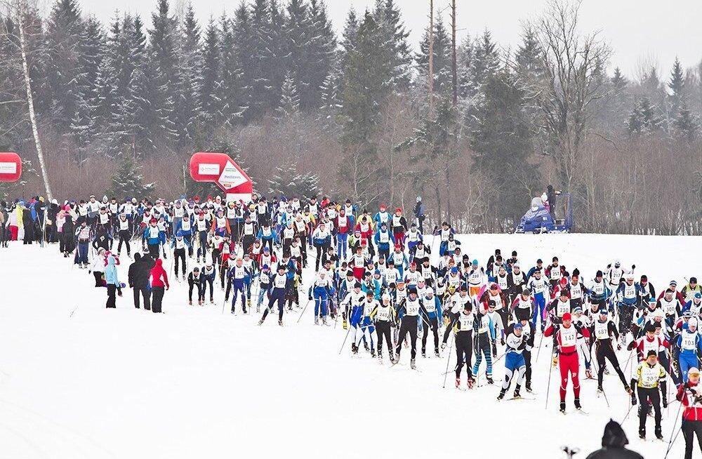 Estoloppet, 15. Tamsalu-Neeruti maraton;11MAR2012; START