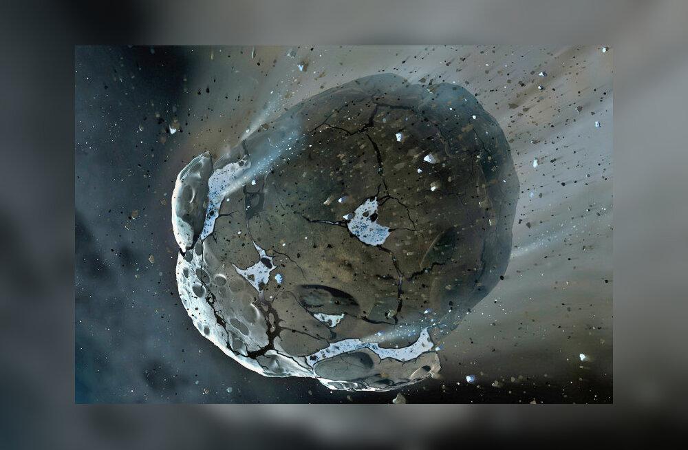 Suur asteroid möödub Maast haruldaselt lähedalt