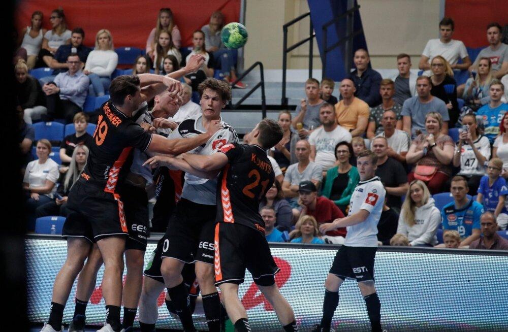 FOTOD | Eesti käsipallikoondis kaotas EM-valiksarjas Hollandile