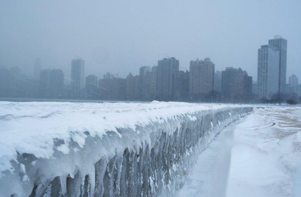 Põhja-Ameerikas on oodata aastakümnete karmimat pakast ja külmarekordeid