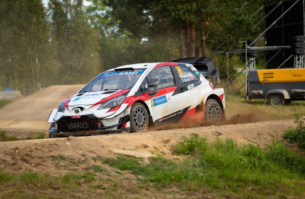 Rally Estonia SS9 2020