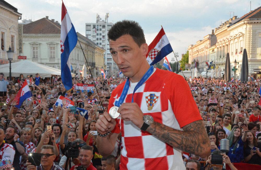 Horvaatia koondise ründestaar lõpetas koondisekarjääri