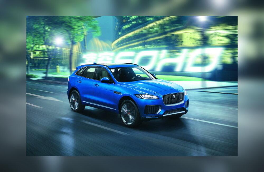 WhatCari proovisõit: Jaguar F-Pace – steroididel sirgunud universaal