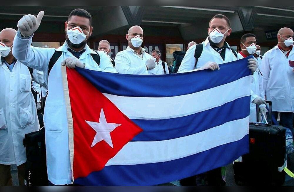 USA noomis Lõuna-Aafrika Vabariiki Kuuba arstide vastuvõtmise eest