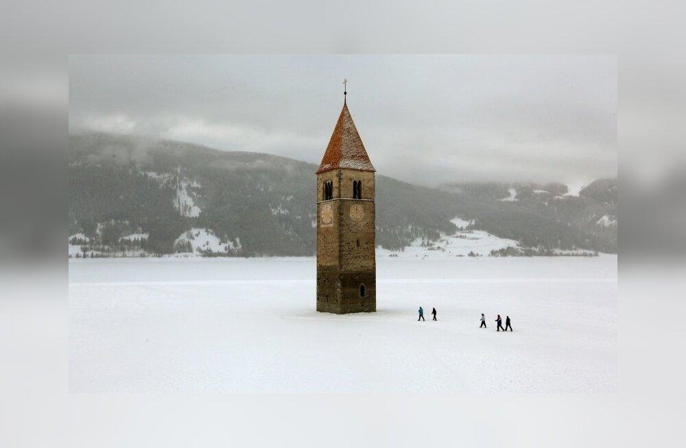Energiapoliitika ohvriks langenud Itaalia linnad uputati järve