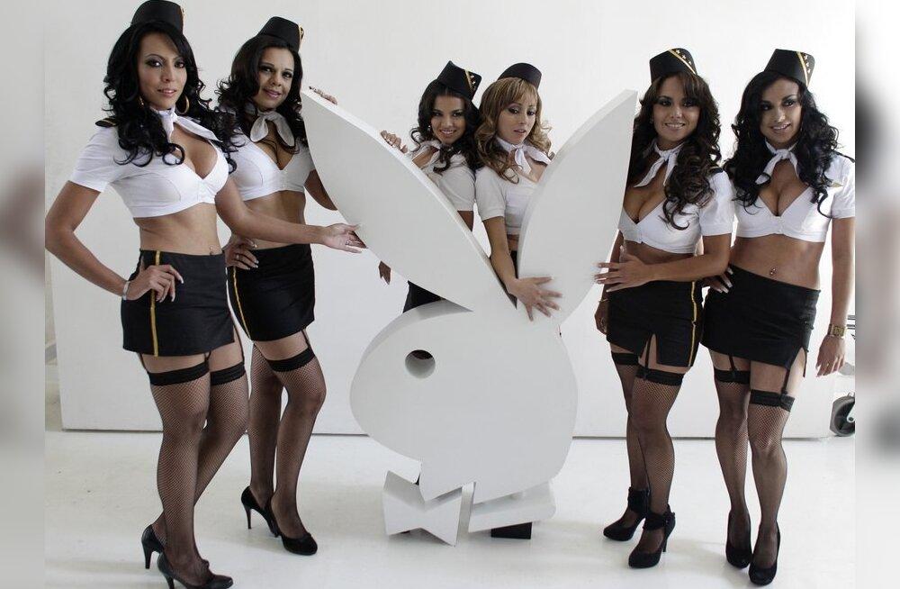 Playboy modellidele tagasihoidlikkust ette heita ei saa